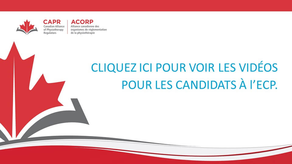Vidéo pour les candidats à l'ECP