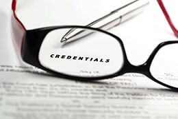 Original Signatures Required on Credentialling Application Forms
