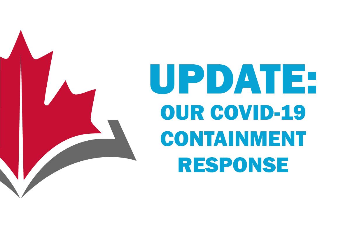 CAPR's COVID-19 Containment Response