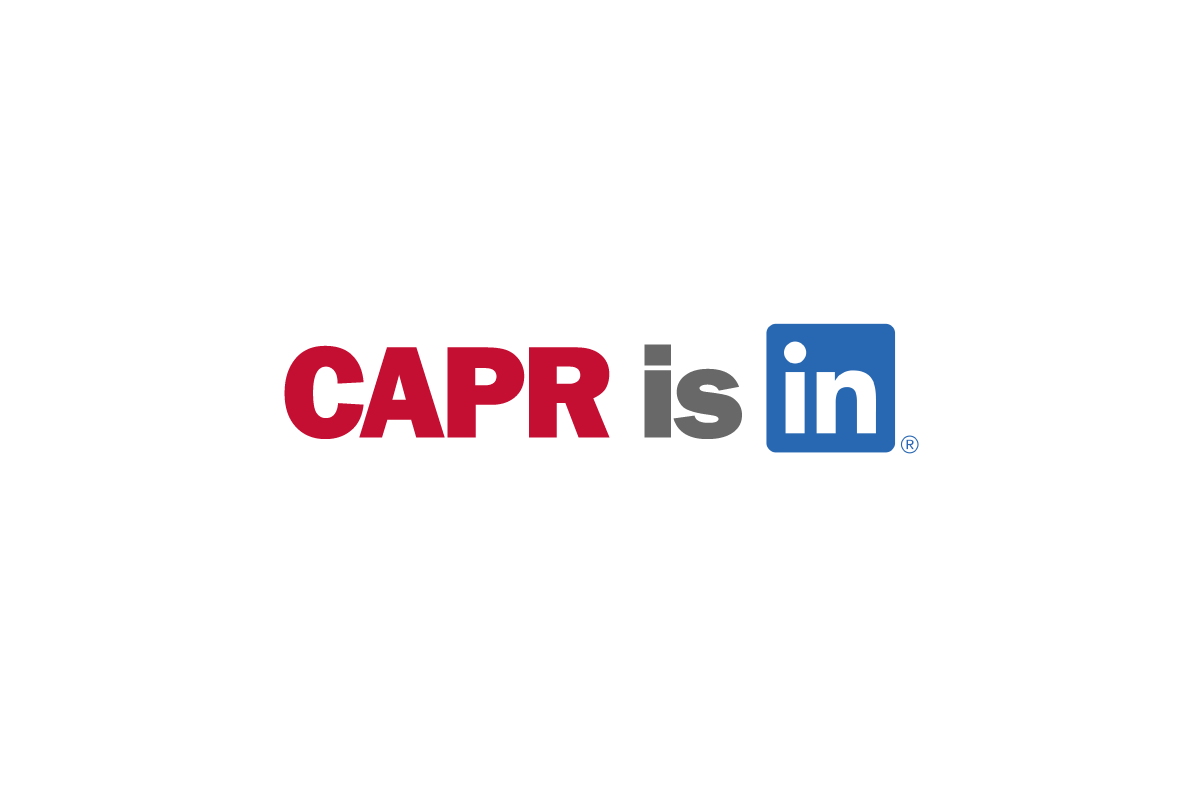 CAPR is now on LinkedIn!