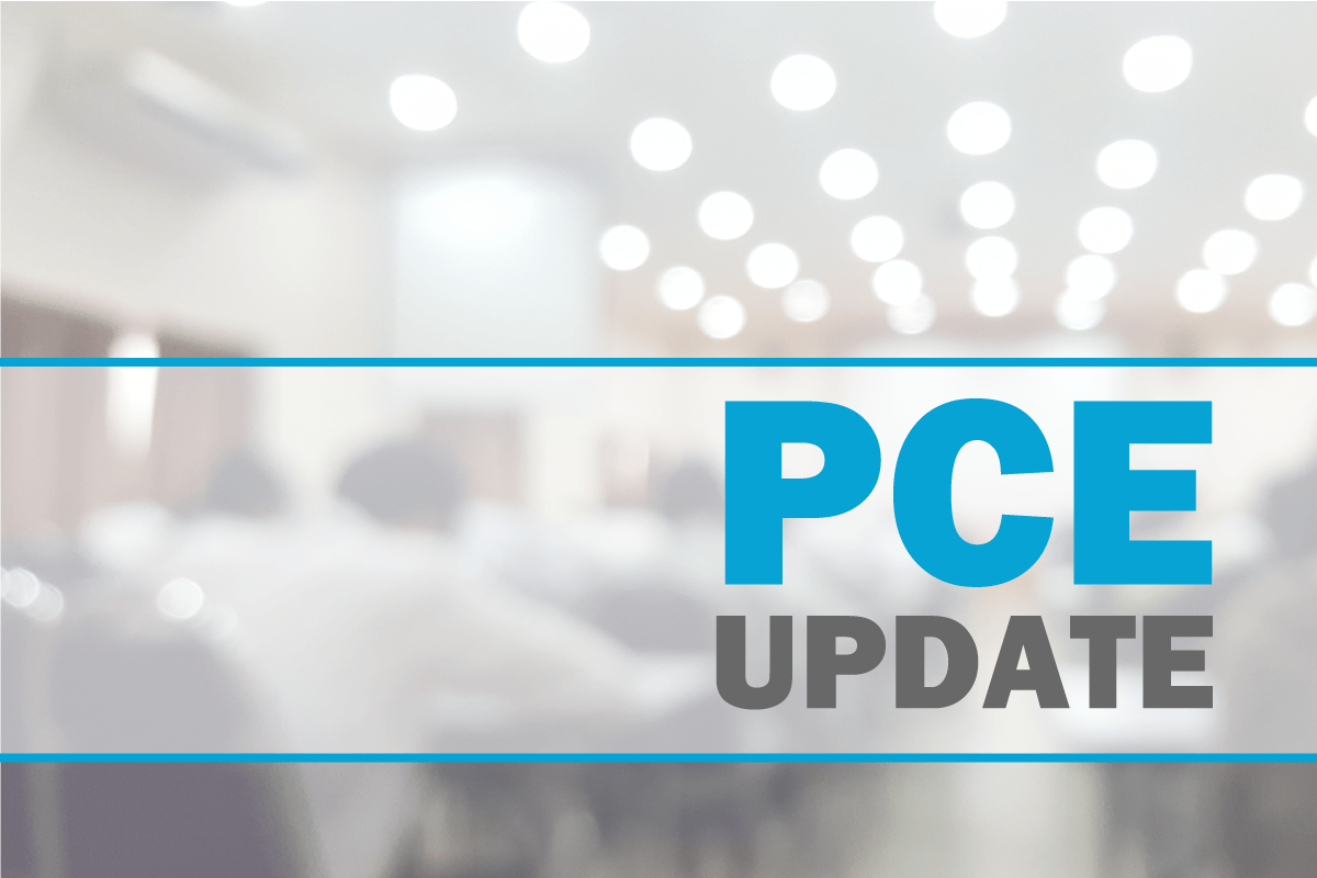New Tentative Schedule for 2020 PCE Administrations